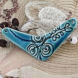 Náhrdelníky - tyrkysový náhrdelník - 7956182_