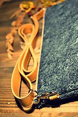 Kabelky - Korková ľudová mini - 7958381_