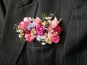 Pierka - Svadobné pierko pre ženícha - 7957363_