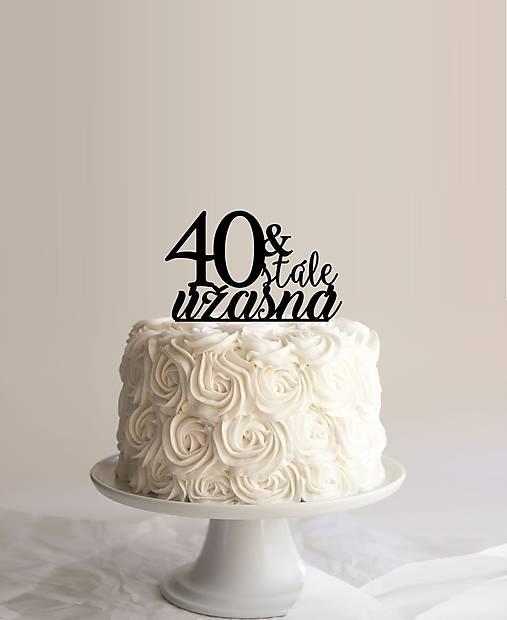 zápich do torty T12 - roky podľa želania