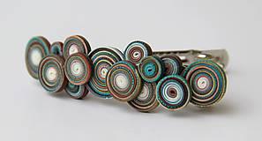 Iné šperky - Dúholínka spona do vlasov - 7957540_
