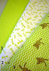 Textil - Bavlnená látka veľkonočná - zajačiky, vážky - 7956169_