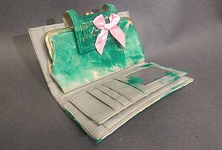 Peňaženky - Peněženka Green - 7954890_
