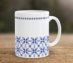 Nádoby - Modro-biela šálka - 7954422_