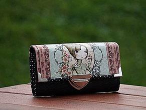 Peňaženky - Peněženka Mirabelle 01, 8 karet, 2 měny - 7955533_