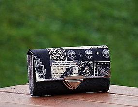 Peňaženky - Peněženka Halloween 19x10, dvě měny, 8 karet - 7955798_