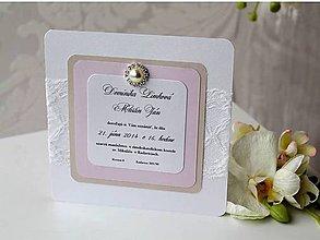 Papiernictvo - svadobné oznámenie 508 - 7957628_