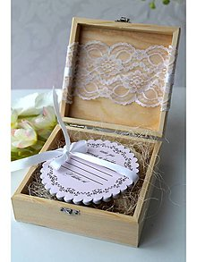 Krabičky - Svadobná krabička plná rád - 7957693_