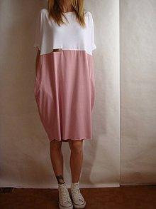 Šaty - Oversize - PoLoVičNé šaty - - 7955303_