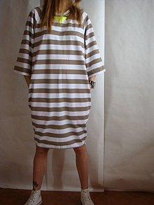 Šaty - - PrUHOVANé  šaty _ - 7955402_