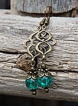 - Smaragdové praskačky v bronze - 7956973_