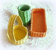 Košíky - Košíky na veľkonočné dekorácie - 7955369_
