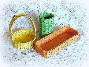 Košíky - Košíky na veľkonočné dekorácie - 7955368_