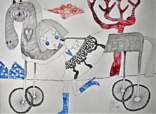 Kresby - môj koník - 7957821_
