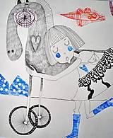 Kresby - môj koník - 7957829_