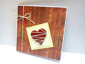 Papiernictvo - Pohľadnica ... Srdcová záležitosť - 7962091_