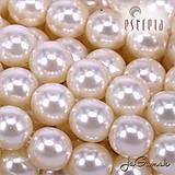 Korálky - Voskované perly - ESTRELA - béžová svetlá 12112 (č.2) - 7961028_