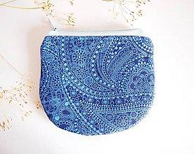Peňaženky - Peňaženka - orient v modrej - 7960332_