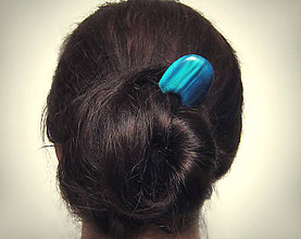 Ozdoby do vlasov - Jabloňová spona do vlasov - 7962484_