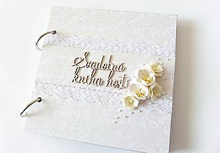 Papiernictvo - svadobná kniha hostí - 7958838_