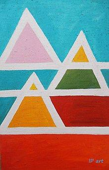 Obrazy - Tri pyramidy - 7959270_