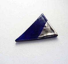Odznaky/Brošne - Tana šperky - keramika/platina - 7962911_