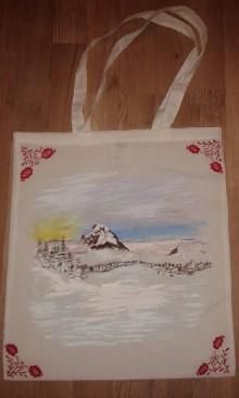 Nákupné tašky - Taška- Zimný Rozsutec - 7963441_