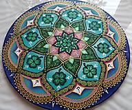 Dekorácie - Mandala zdravia a šťastia v živote - 7962849_