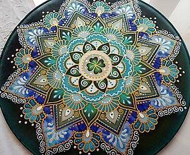 Dekorácie - Mandala zdravia a uzdravenia - 7962738_