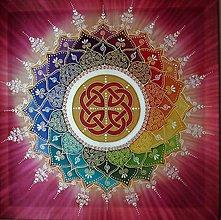 Obrazy - Mandala šťastia, úspechu a energie II. - 7962942_