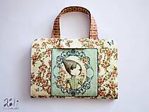Detské tašky - Pastelkovník - detský kufrík na kreslenie Mirabelle I. - 7963494_