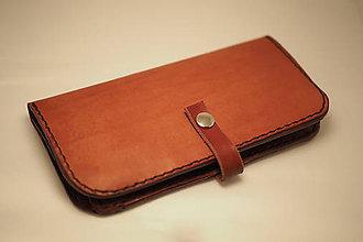 Peňaženky - Dámská kožená peňaženka-borovice - 7958909_