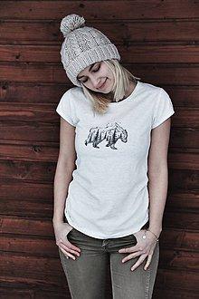 Tričká - Ručne kreslené tričko - 7961404_