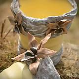 """Nádoby - Orchidea """"Latte"""" - črepník pre orchideu - 7960071_"""