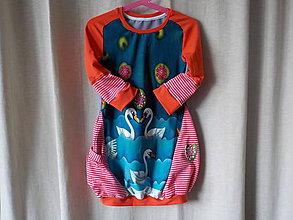 Detské oblečenie - Šaty detské - Z jazera - 7961824_