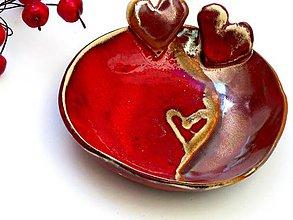 Nádoby - miska so srdcom - 7959811_