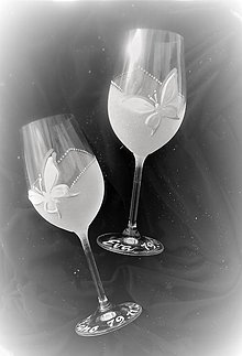 Iné doplnky - Svadobné poháre - 7959644_