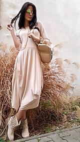Šaty - Šaty Sofia pudrové - 7960725_