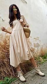 Šaty - Šaty Sofia béžové - 7960756_