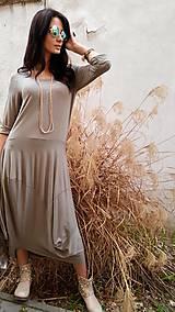 Šaty - Šaty Sofia taupe - 7960792_