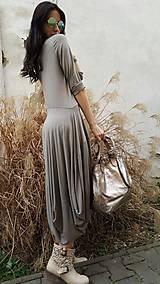 Šaty - Šaty Sofia taupe - 7960793_