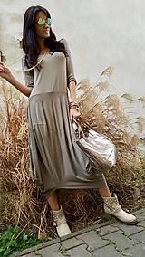 Šaty - Šaty Sofia taupe - 7960801_