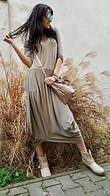 Šaty - Šaty Sofia taupe - 7960802_