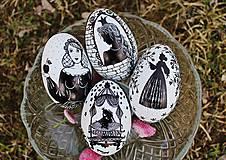 Dekorácie - Husacie vajíčka rozprávkové - kolekcia - 7960228_