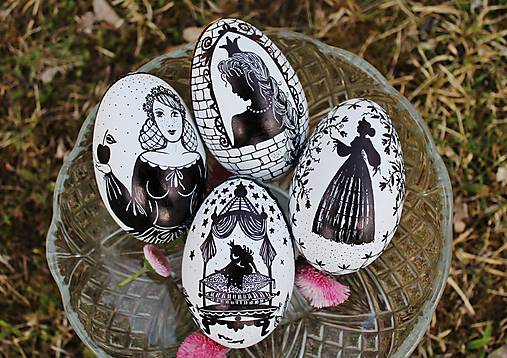 Husacie vajíčka rozprávkové - kolekcia