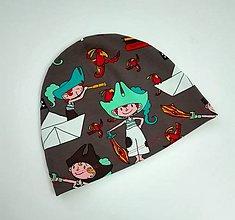 Detské čiapky - Pre piráta 7-8 r. - 7967271_