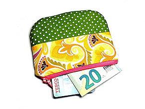 Peňaženky - taštička/peňaženka - 7967025_