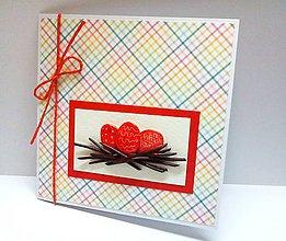 Papiernictvo - Pohľadnica ... Maľované vajíčka - 7966364_