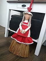 "Bábiky - Metla - bábika "" domáca panička"" - 7965069_"