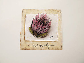 Odznaky/Brošne - protea. - 7963752_